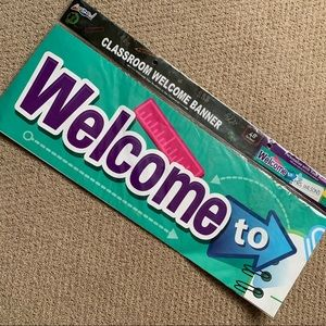 🎉5 for $15🎉 Classroom Welcome Banner